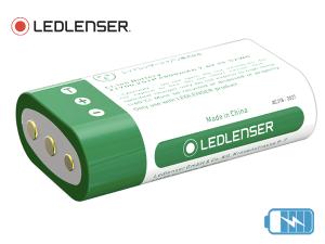 Pack accumulateur Ledlenser 2x21700 pour lampe frontale H15R Core/Work et H19R Core/Signature