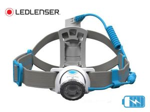Lampe frontale rechargeable Led Lenser NEO 10R bleue
