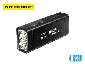 Lampe torche tactique rechargeable Nitecore TM10K