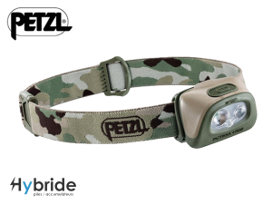 Lampe frontale Petzl TACTIKKA + RGB Camouflage
