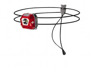 Lampe frontale BEAL L24 rouge