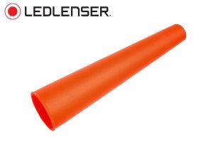 Cône de sécurité rouge Ledlenser Ø 47 mm