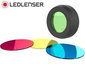 Lot de 4 filtres de couleur Led Lenser 36 mm pour MH10, H8R, H14.2 et H14R.2