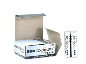 Pack 10 piles alcalines AAA LR03 NX 1,5V