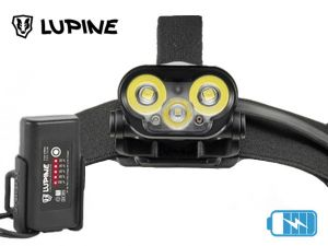 Lampe frontale rechargeable Lupine BLIKA X4 SC