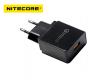 Adaptateur secteur Nitecore QC 3A USB