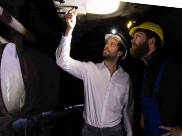 Ledlenser industrie IH8R lampe frontale rechargeable